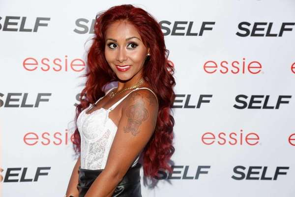 "Nicole ""Snooki"" Polizzi (seen here attending the ""Self"