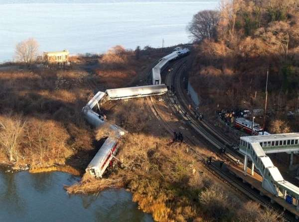 In this file photo, cars from a Metro-North
