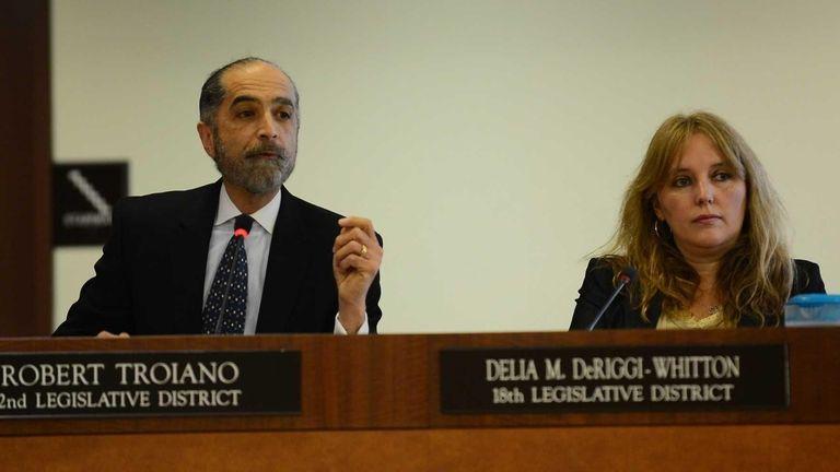 Nassau County Legislator Robert Troiano is shown at