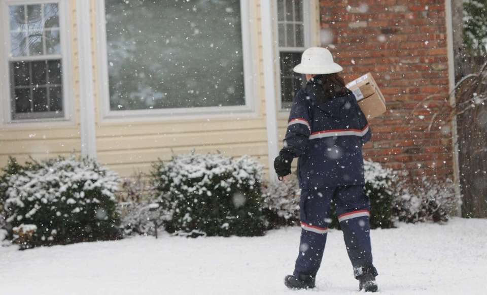 Letter carrier: The U.S. Postal Service forbids mail