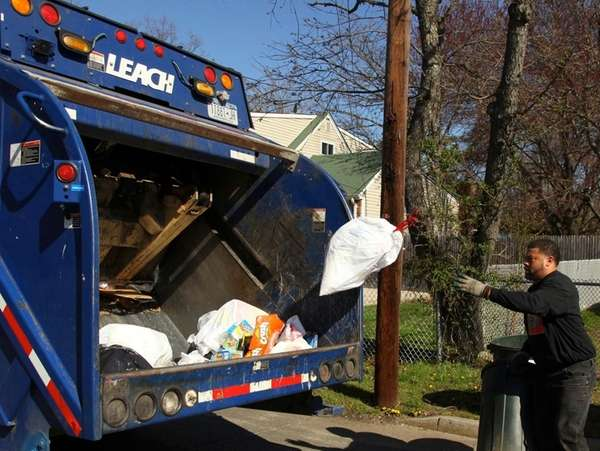 Trash collectors: You're still warm in your bed
