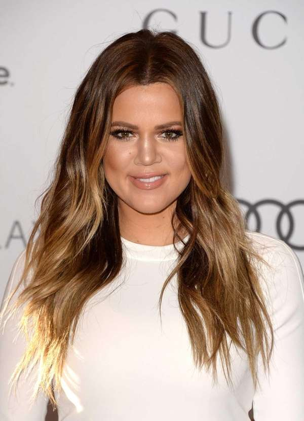 Khloe Kardashian arrives at The Hollywood Reporter's 22nd