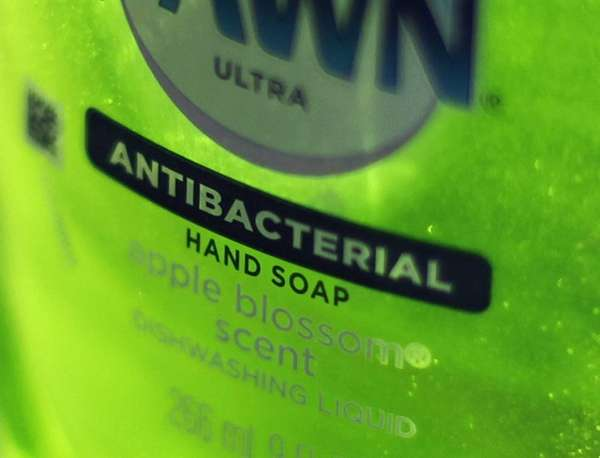 Dawn Ultra antibacterial soap in a kitchen. (April