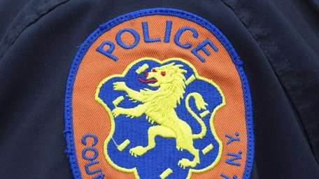Nassau County Police emblem. (May 16, 2012)