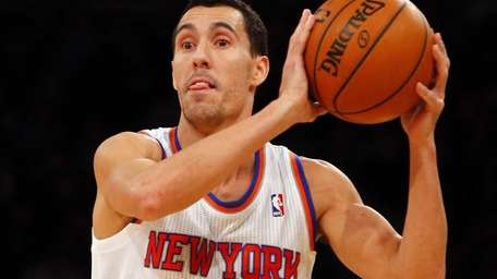 Pablo Prigioni controls the ball against the Washington