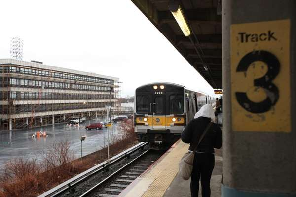Long Island Rail Road officials Monday, Dec. 16,