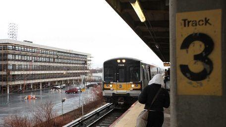 Long Island Rail Road officials Monday, Dec. 16,