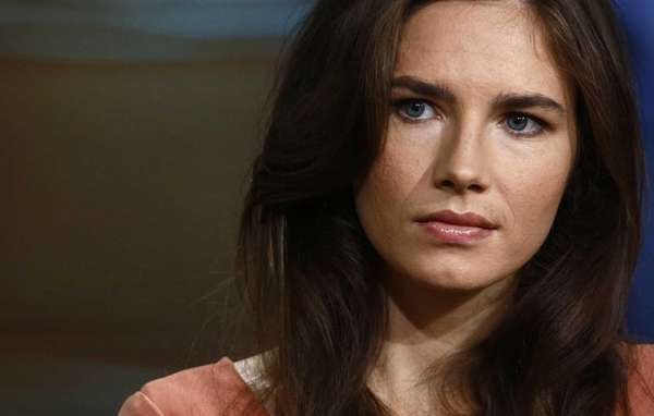 This image released by NBC shows Amanda Knox
