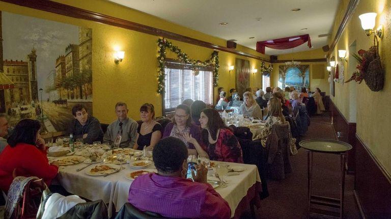 Patrons dine at Spezia in St. James. (Dec.