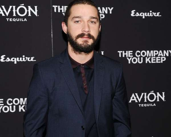 "Actor Shia LaBeouf attends the premiere of ""The"