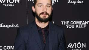 Actor Shia LaBeouf attends the premiere of