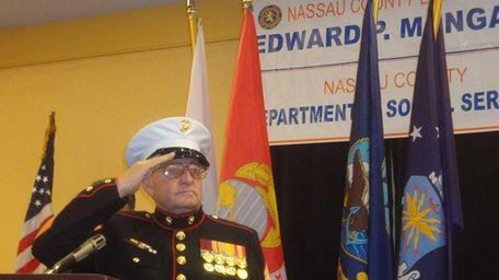 Joseph Pascarella Sr., a Korean War veteran who