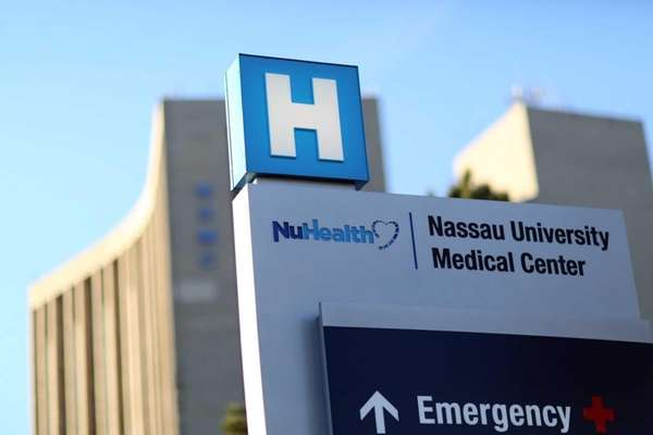 Nassau University Medical Center in East Meadow. (Nov.