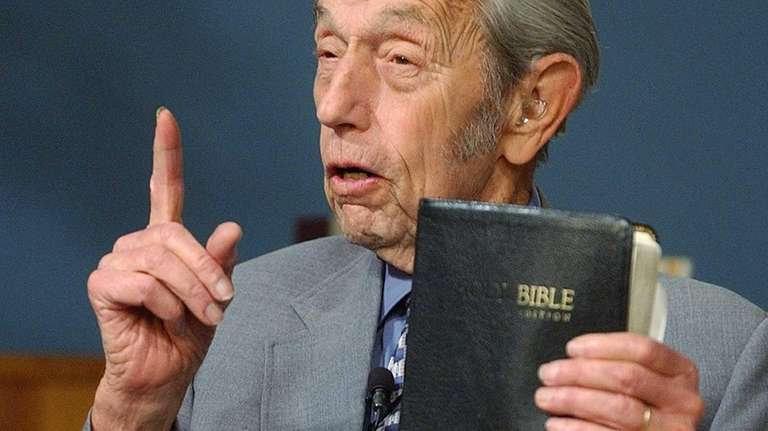 Harold Camping, the California preacher who used his