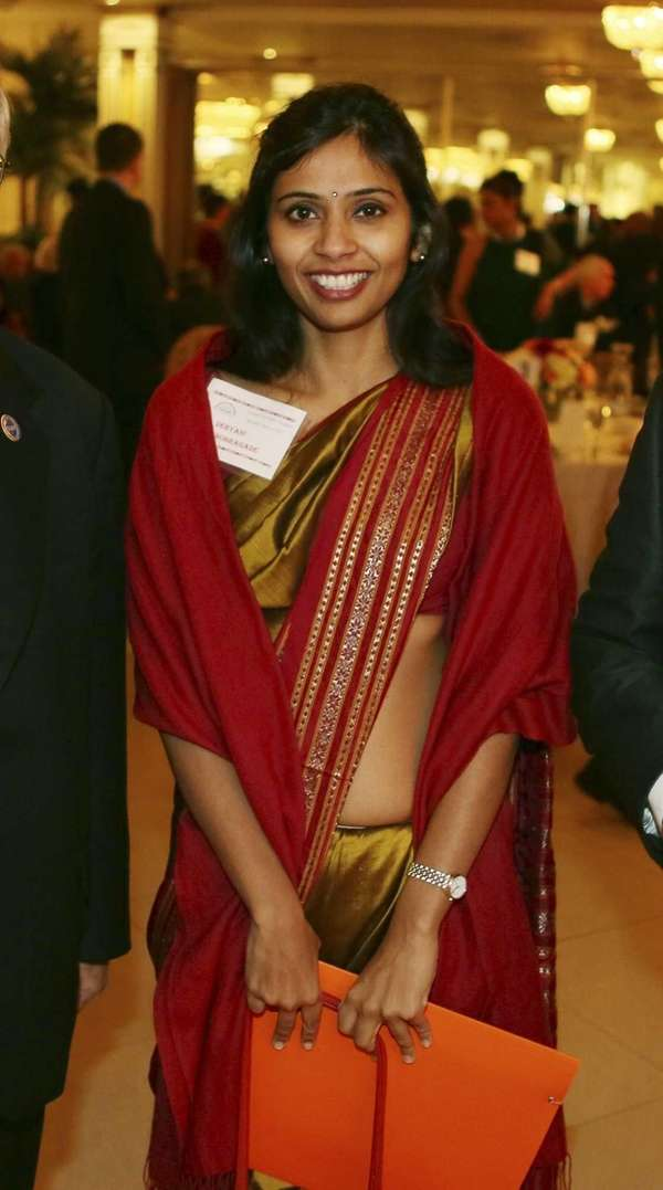 This photo shows Devyani Khobragade, India's deputy consul