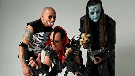 The influential horror rock band The Misfits is