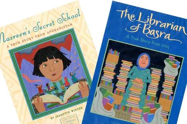"""The Librarian of Basra"" and ""Nasreen's Secret School,"""