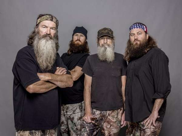 quot;Duck Dynastyquot; patriarch Phil Robertson, left, with Jase