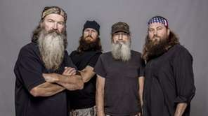 """Duck Dynasty"" patriarch Phil Robertson, left, with Jase"