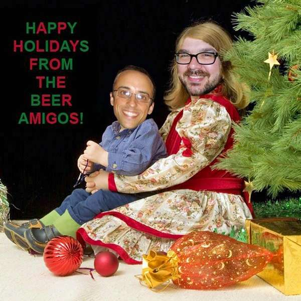 The 2013 holiday card from podcasters ?The Beer