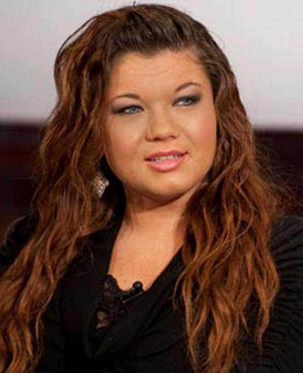 """Teen Mom"" Amber Portwood."