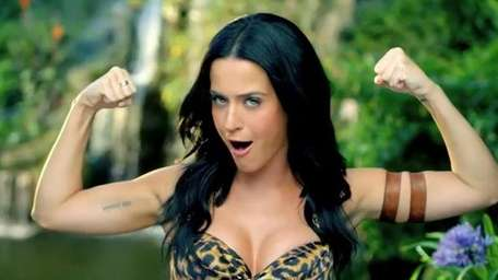 Katy Perry in her music video for