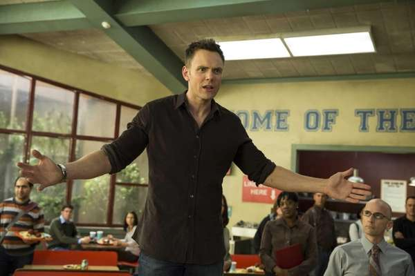 "Joel McHale as Jeff WInger in ""Community"" Episode"