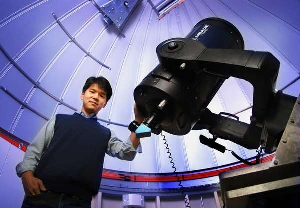 Stony Brook University astronomer Prof. Jin Koda with
