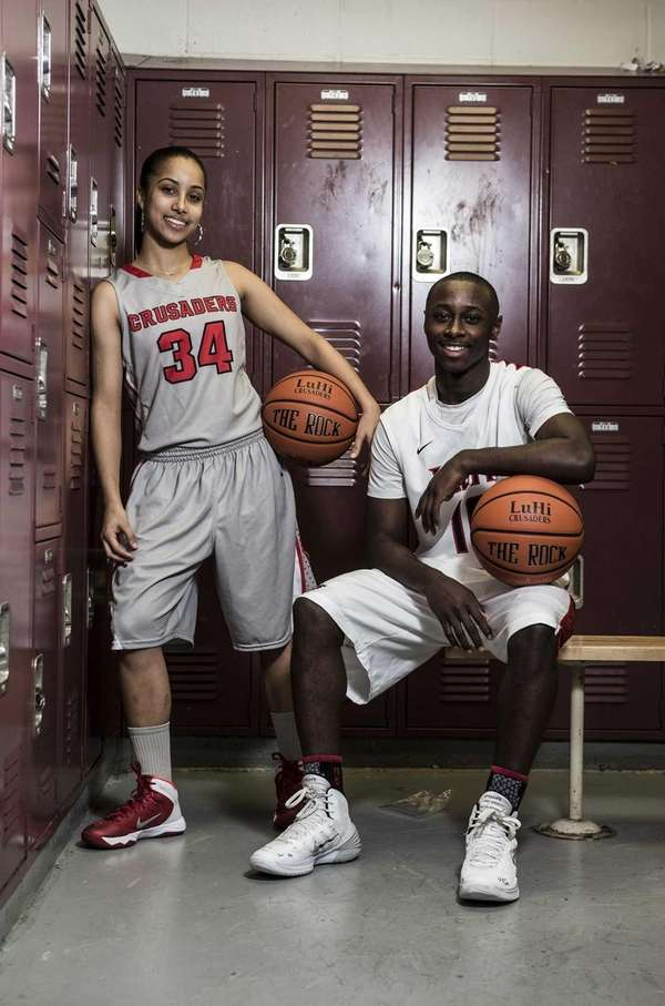 Long Island Lutheran's Boogie Brozoski and Chris Atkinson