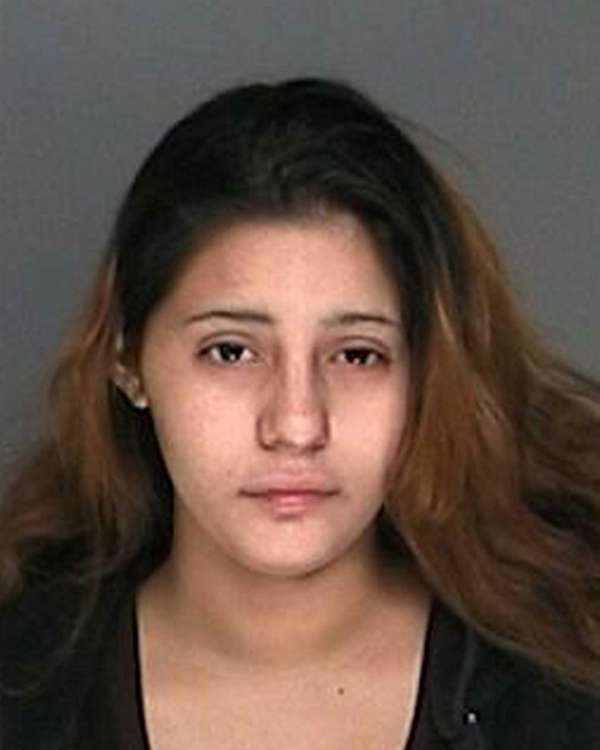 Rebecka Diaz, 19, of Coram, was arrested and