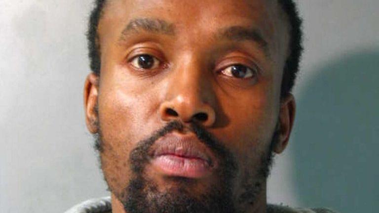 Richard Salako, 37, who Nassau County police say