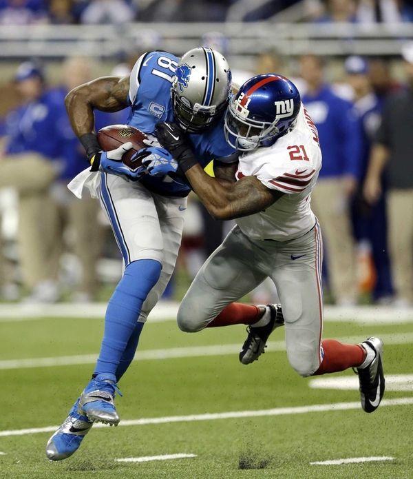 Detroit Lions wide receiver Calvin Johnson (81) is