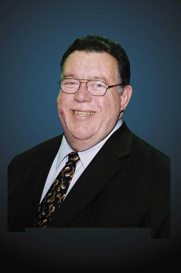Garden City Trustee Dennis C. Donnelly is shown
