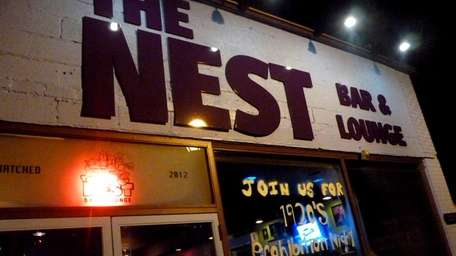 The entrance to The Nest Bar & Lounge