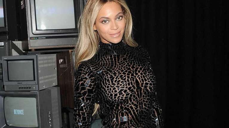 Beyoncé attends a release party and screening for