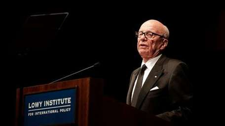 Executive chairman of News Corp. Rupert Murdoch in