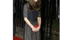 Kate Middleton arrives at a charity gala in