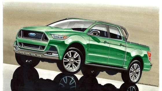 Design elements from the Mustang appear in this