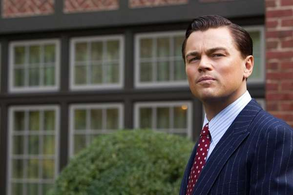 "Leonardo DiCaprio stars in ""The Wolf of Wall"