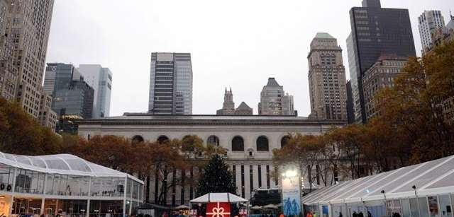 Skate at Citi Pond in Bryant Park.