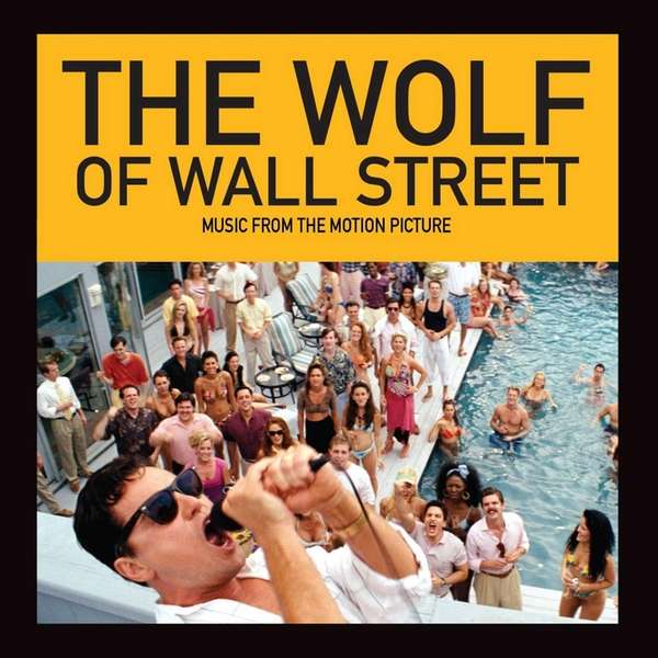 """The Wolf of Wall Street"" album cover from"