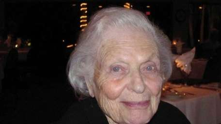 Charlotte Marker Zitrin, the founding director of the
