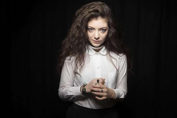 Australian singer Lorde poses for a portrait in