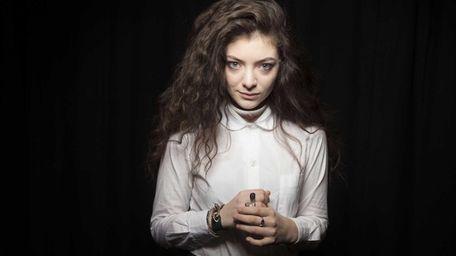 Australian singer Lorde poses for a portrait in