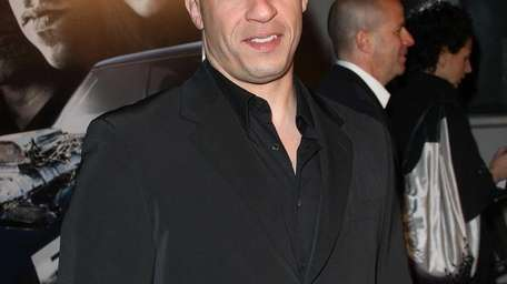 Vin Diesel at the premiere Universal's