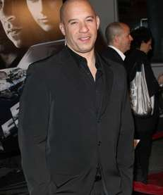 """Vin Diesel at the premiere Universal's """"Fast &"""