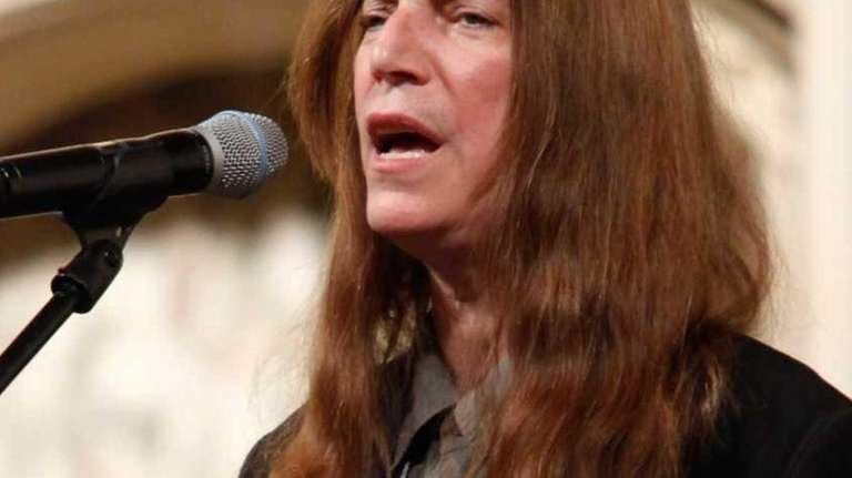 Patti Smith at the Dr. Martin Luther King