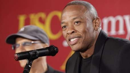 Hip-hop mogul Dr. Dre, seen on May 15,