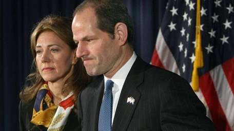Eliot Spitzer and his wife, Silda Wall, announced