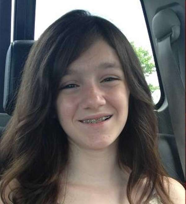 Alexandra Stokes, a sixth-grader at Center Moriches Middle